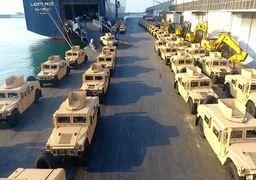 هدایای نظامی آمریکا به ارتش لبنان(عکس)