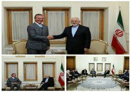 ظریف با رئیس کمیسیون سیاست خارجی مجلس برزیل دیدار کرد