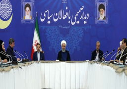رئیس جمهوری در دیدار با جمعی از فعالان سیاسی تاکید کرد؛ فشارهای بیسابقه دشمنان بر جمهوری اسلامی