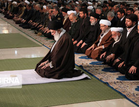 گزارش تصویری اقامه نمازجمعه پایتخت به امامت مقاممعظم رهبری