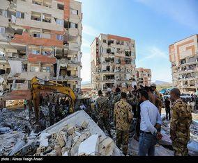 عکس های سرپل ذهاب پس از زلزله