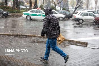 هشدار هواشناسی نسبت به بارش باران و برف از فردا