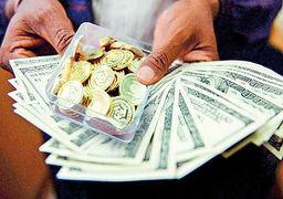 گزارش «اقتصادنیوز» از بازار طلا و ارز پایتخت؛ دلار رکورد سالانه زد