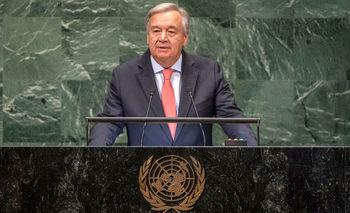 آغاز مجمع عمومی سازمان ملل با سخنرانی دبیرکل؛ گوترش حمله به آرامکو را محکوم کرد
