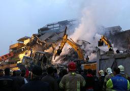 زمان پایان آواربرداری ساختمان پلاسکو مشخص شد
