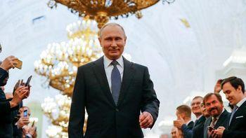 رای «آری» روسها به سلطنت پوتین