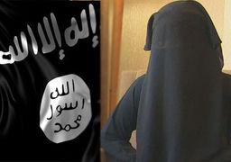 حمله زن داعشی با چاقو به یک سرباز + تصاویر (16+)