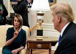 ترامپ در آستانه آغاز محاکمه در سنا؛ نانسی پلوسی را هم استیضاح کنید!