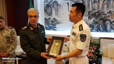 سفر محمد باقری رئیس ستاد کل نیروهای مسلح ایران به چین