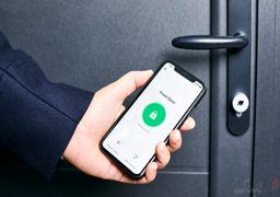 کلید قفل خانه را با موبایل ارسال کنید!