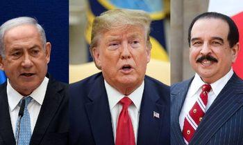 تماس تلفنی سهجانبه آل خلیفه، ترامپ و نتانیاهو