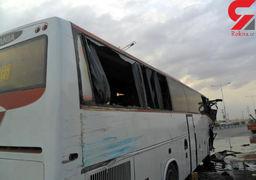 برخورد اتوبوس و سمند در زنجان ۳ کشته و ۳۹ مصدوم برجا گذاشت