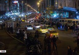 گزارش وضعیت استان ها و شهرهای مختلف در شب گذشته