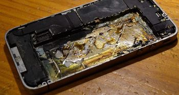 دلیل منفجر شدن گوشیهای هوشمند چیست؟