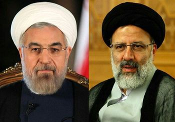 روحانی و رئیسی در مشهد به هم رسیدند