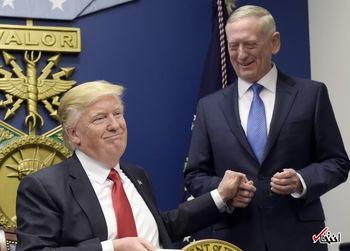 رابطه ترامپ و ماتیس شکرآب است/آیا ترامپ وزیر دفاع را کنار میگذارد؟