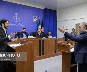 گزارش تصویری جلسه دادگاه متهمان جدید بانک سرمایه