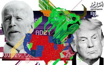 ایرانی ها سومین کشور پیگیر انتخابات آمریکا هستند؛ آمریکایی ها نهمین کشور