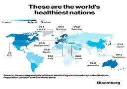 اسپانیا سالمترین کشور جهان