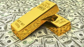 دلار در برابر طلا کمرنگ تر می شود