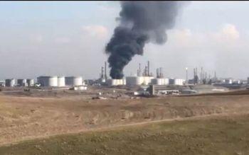 آتشسوزی مرگبار در پالایشگاه اربیل