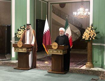 روحانی: در کنار قطر خواهیم ماند