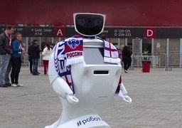 ساخت ربات بادیگارد برای جام جهانی فوتبال روسیه !
