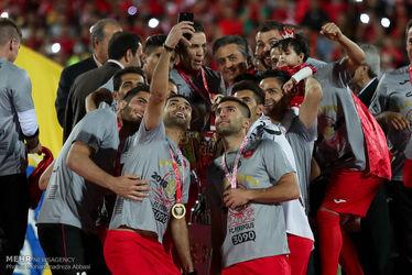 مراسم جشن قهرمانی پرسپولیس