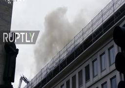 آتشسوزی بانک یو.بی.اس در سوئیس / فیلم