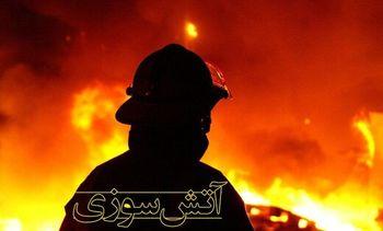 علت آتش سوزی بازار پردیس کیش اتصال سیم برق اسپیلیت اعلام شد