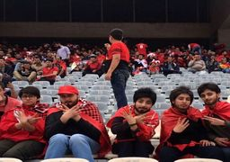 ۵ دختری که به ورزشگاه آزادی رفتند+عکس