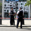 حمله با چاقو در محوطه وزارت کشور بریتانیا