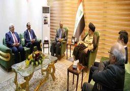 حزب اتحادیه میهنی کردستان با مقتدی صدر و حیدر العبادی وارد رایزنی شد
