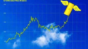 چرا قیمت طلا از ۲۰۰۰ دلار رد شد؟+نمودار
