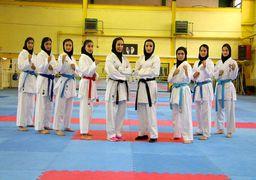 دختران ایرانی بر بام کاراته آسیا