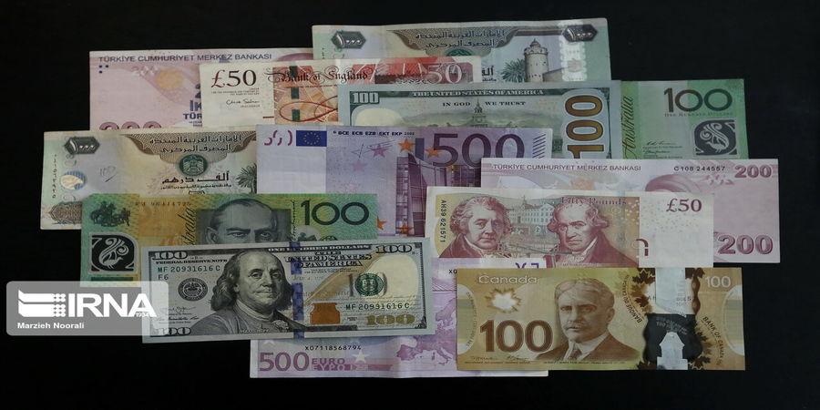 افزایش نرخ رسمی ۳۳ ارز