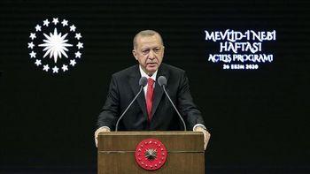 اردوغان خطاب به مردم ترکیه: به هیچ وجه کالاهای فرانسوی نخرید