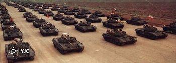 سلاح مجهز به موشک ارتش ایران که تنه به تنه تانکهای آمریکایی میزند+عکس