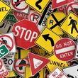 استفاده از زبان انگلیسی درعلائم راهنمایی و رانندگی ژاپن !