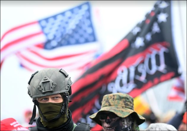 شورش در واشینگتندیسی / حمله ترامپیستها به ساختمان کنگره