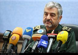 فرمانده سپاه: پیام ایران به کشورهای حاشیه خلیج فارس صلح و دوستی است