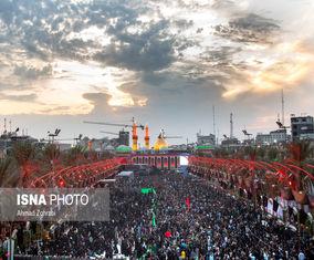 گزارش تصویری از کربلا در آستانه اربعین