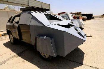 خودروهای عجیب و غریب داعشی ها + عکس