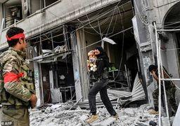 غارت گسترده عفرین توسط ارتش ترکیه و شورشیان سوری+ عکس