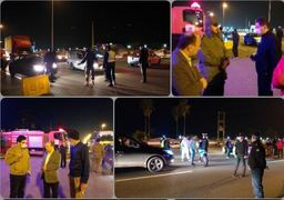 ورودی غرب مازندران به روی مسافران بسته شد
