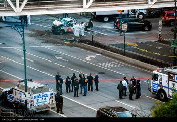 خودرو استفاده شده در حمله تروریستی مرگبار منهتن نیویورک + عکس