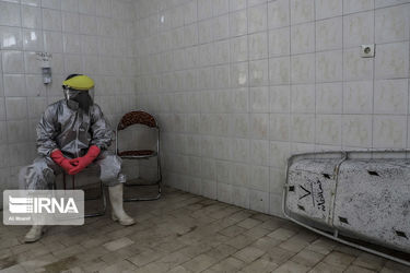 «آخرین ایستگاه کرونا»  تصاویر کفنودفن جانباختگان ویروس کووید-۱۹