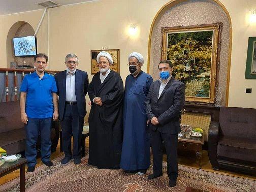 دیدار کرباسچی و محمد قوچانی با کروبی بعد از ۱۰ سال