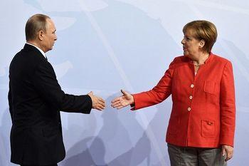 جزئیات مذاکرات تلفنی پوتین با صدراعظم آلمان