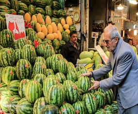 تصاویر بازار خرید شب یلدا